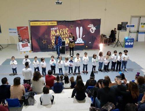 "Finanziate 2 borse di studio grazie al ""First Magic Tournament Show kids"""